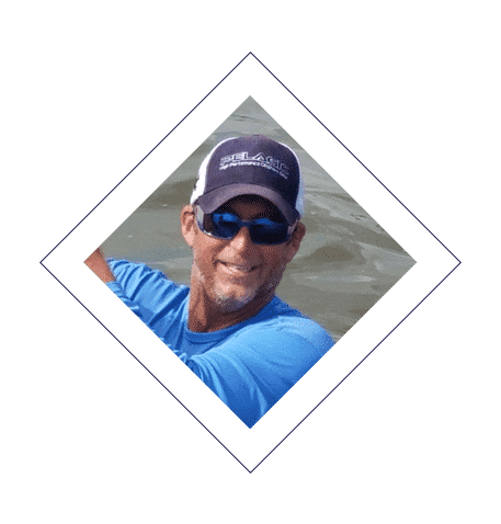 Capt C.R near shore or off Gulf of Mexico angler